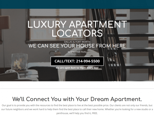 Luxury Apartments DFW