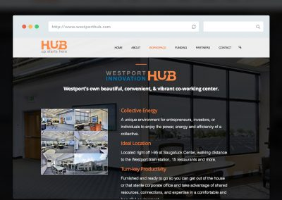HubStart Website