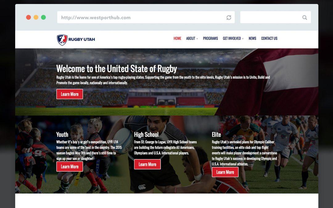 Rugby Utah Website