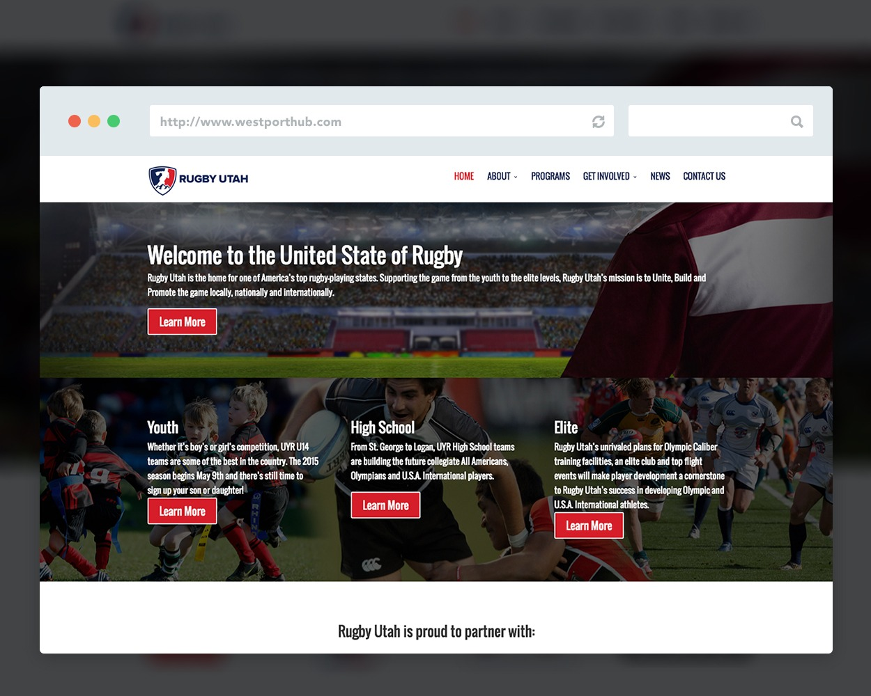 Rugby Utah Website